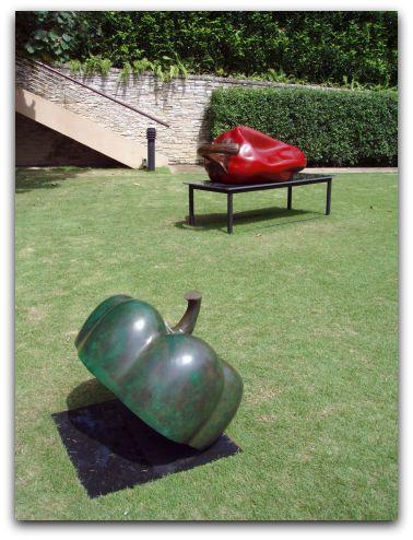 Kumari Nahappan's chili sculpture