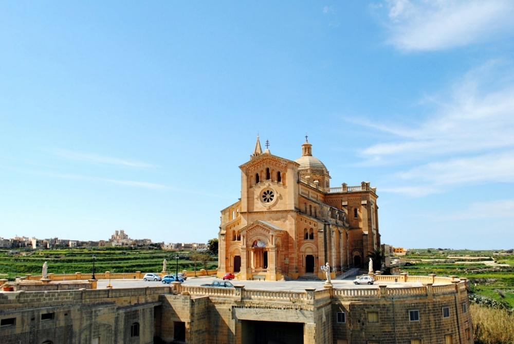Basilica of the Blessed Virgin Of Ta' Pinu on Gozo Island