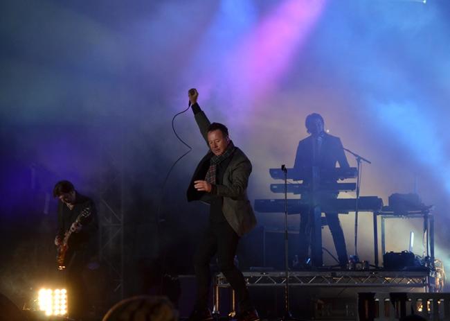 Simple Minds at Edinburgh`s Hogmanay celebrations