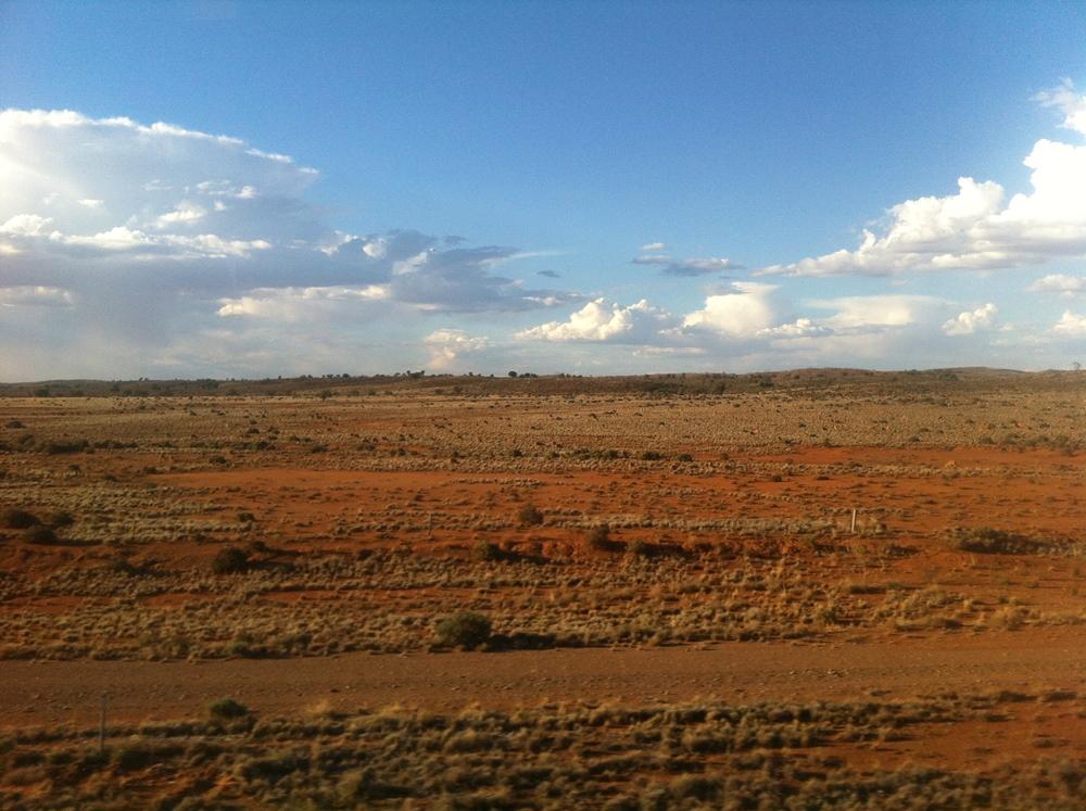 Just before reaching Broken Hill